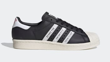 Human Made x Adidas Superstar Core Black/Cloud White/Off White (Black)