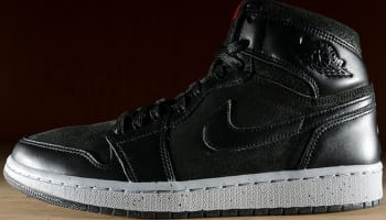 Air Jordan 1 Retro High NYC Black/Gym Red-Wolf Grey