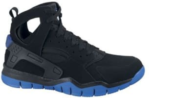 Nike Air Huarache BBall 2012 Black/Black-Varsity Royal