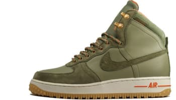 Nike Air Force 1 High Deconstructed Military Boot Silver Sage/Medium Olive