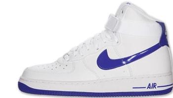 Nike Air Force 1 High White/Hyper Blue