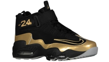 Nike Air Griffey Max 1 Black/Black-Metallic Gold-Black