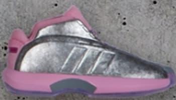 adidas Crazy 1 Metallic Silver/Pink-White