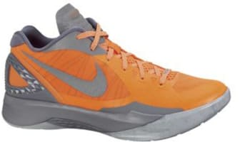 Nike Zoom Hyperdunk 2011 Low PE Total Orange/Metallic Silver-Cool Grey