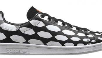 adidas Originals Stan Smith Black/White Vapour-Running White