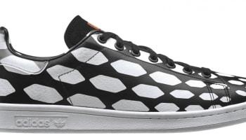 adidas Originals Stan Smith Black/White Vapour-Running White