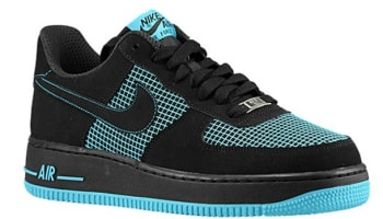 Nike Air Force 1 Low Black/Black-Gamma Blue