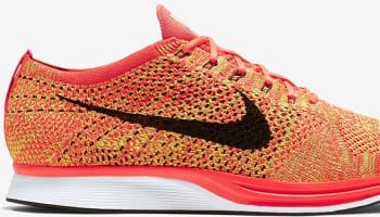 Nike Flyknit Racer Bright Crimson/Black-Volt