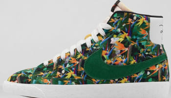 Nike Blazer Mid Premium VNTG Multi-Color/Pine Green-White