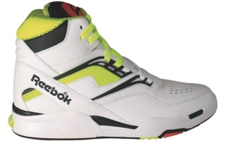 Reebok Twilight Zone Pump White/Neon Yellow-Black