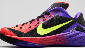 Nike Hyperdunk 2014 Low Dark Grey/Hyper Punch-Volt