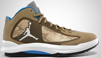 Jordan Aero Flight Filbert/White-Dark Khaki