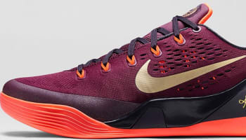 Nike Kobe 9 EM Deep Garnet/Metallic Gold-Hyper Crimson-Cave Purple