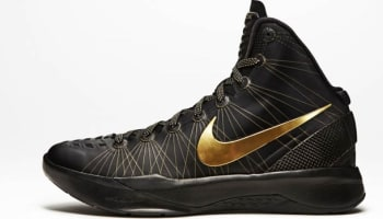 Nike Zoom Hyperdunk 2011 Elite Black/Metallic Gold