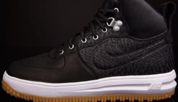 Nike Lunar Force 1 Sneakerboot Black/Black-White