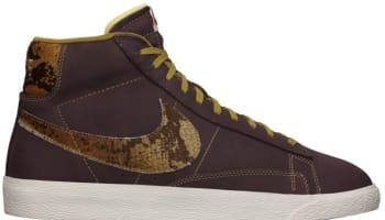 Nike Blazer Mid Premium VNTG Mahogany/Golden Tan-Sail