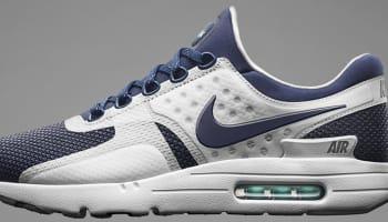 Nike Air Max Zero White/Rift Blue-Hyper Jade-Midnight Navy