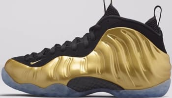 Nike Air Foamposite One Metallic Gold/Metallic Gold-Black