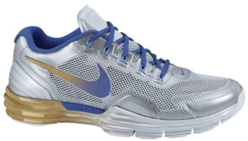 Nike Lunar TR1 Metallic Silver/Game Royal-Metallic Gold