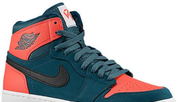 Air Jordan 1 Retro High Dark Teal/Black-Infrared 23-White