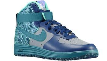 Nike Lunar Force 1 NS Hi Premium Silver/Mineral Teal