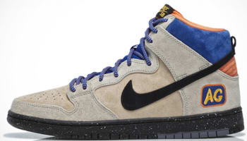 Nike Dunk High Premium SB Grain/Black-Sandtrap-Bright Mandarin