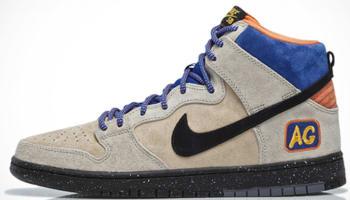 Nike Dunk High Premium SB Grain/Black-Sandtrap-Bright Mandarin