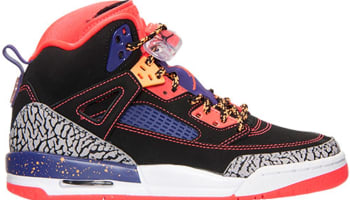 Jordan Spiz'ike GS Black/Bright Crimson-Court Purple-Bright Citrus