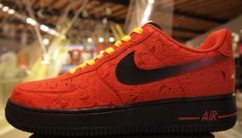 Nike Air Force 1 Low University Red/Black-University Red