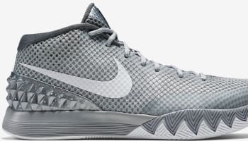 Nike Kyrie 1 Wolf Grey/White-Midnight Navy-Pure Platinum