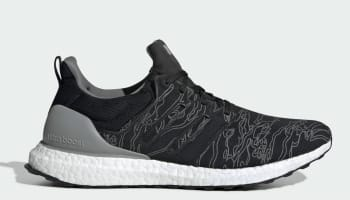 Undefeated x Adidas Ultra Boost Performance Shift Grey/Cinder/Utility Black