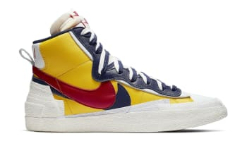 Sacai x Nike Blazer Mid Varsity Maize/Midnight Navy-White-Varsity Red