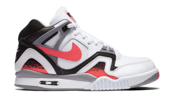 Nike Air Tech Challenge II QS White/Hot Lava-Black-Flat Silver