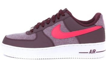 Nike Air Force 1 Low Red Mahogany/Scarlet Fire-White