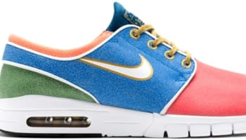 Nike Stefan Janoski Max SB Rio/Photo Blue-Gorge Green-White