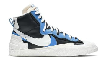 Sacai x Nike Blazer Mid Black/University Blue-Sail-White