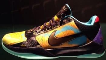 Nike Zoom Kobe V Prelude University Gold/Metallic Gold-Gamma Blue