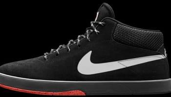 Nike SB Eric Koston Mid Black/Hyper Crimson-Black