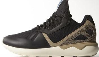 adidas Tubular Core Black/Hemp-Simple Brown