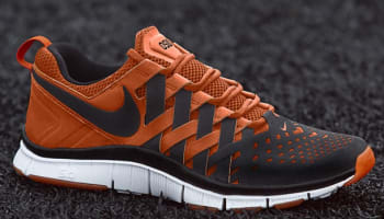 Nike Free Trainer 5.0 Black/Black-Safety Orange-White