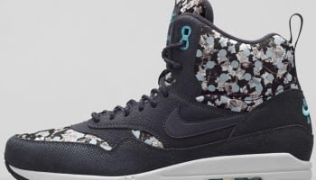 Nike Air Max 1 Mid Sneakerboot Liberty Women's Dark Ash/Black-Neutral Grey