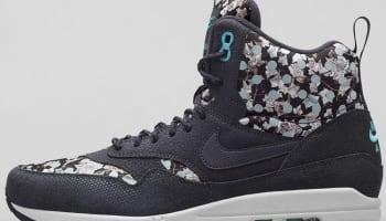Nike Air Max 1 Mid Sneakerboot Liberty Women's Dark Ash/Black-Neutral Grey