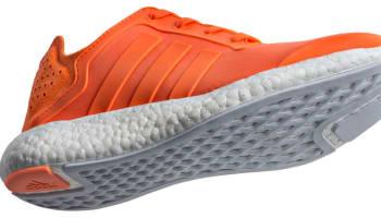 adidas Pure Boost Women's Solar Orange/Core Orange-Clear Grey