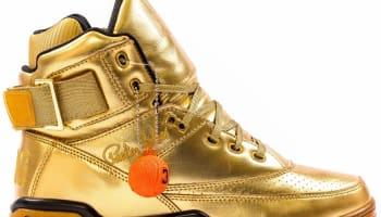 Ewing Athletics Aloysius 33 Hi Metallic Gold/Black