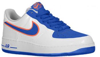 Nike Air Force 1 Low White/Game Royal-Turf Orange