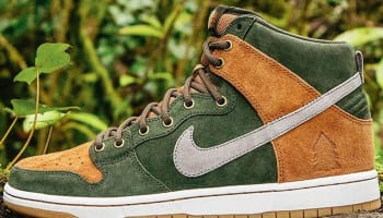Nike Dunk High Premium SB Sequoia/Ale Brown-Cool Grey-Cool Grey