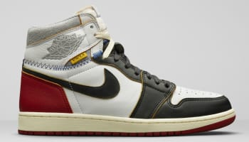 Union LA x Air Jordan 1 Retro High NRG White/Varsity Red-Wolf Grey-Black