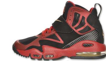 Nike Air Max Express Black/Metallic Gold-Gym Red-White