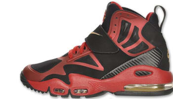 Nike Air Max Express Black/Metallic Gold-Gym Red-White