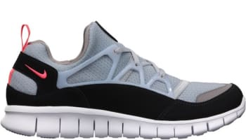 Nike Free Huarache Light Wolf Grey/Infrared-Black-Sport Grey